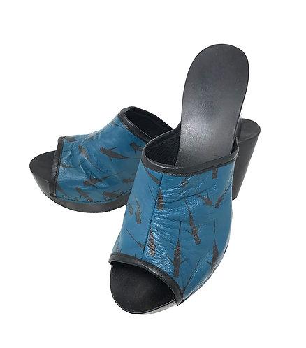 Zoccoli SOLE Blu (mis. 39)