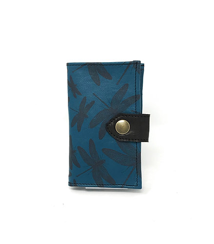 PORTAFOGLIO DONNA - Blu/Libellule