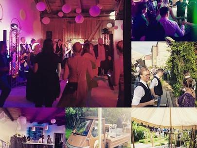 Hochzeit in Party-Stadl-Garage mitten in Kaufbeuren