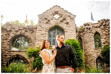 Angela & Ryan's Engagement Session   Beardslee Castle, Little Falls, NY