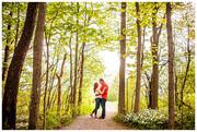 Aislinn & Brian's Engagement Session at Stone Quarry Hill Art Park | Cazenovia, NY