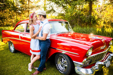 Vintage Couples Session - Jacklyn & Nils - Utica, NY