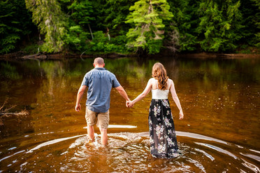 Jessica & Rob's Engagement Session - Boonville, NY