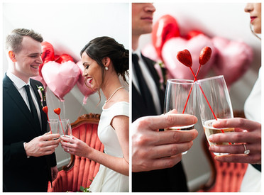 Intimate Valentine's Day Styled Elopement | Utica, NY
