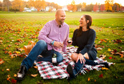 Mickee & Lucas Fall Engagement Session | Proctor Park, Utica, NY