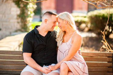 Erin & Jed's Engagement Session | Franklin Square Park, Syracuse, NY