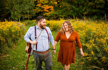 Ilana & Brian's Fall Engagement Session - Schuyler, NY