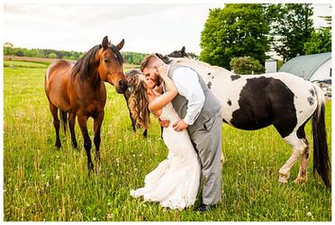 Martha & Zach Wedding at MKJ Farm   Deansboro, NY