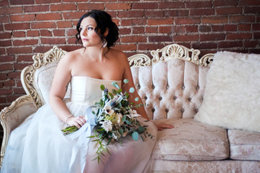 Borrowed & Blue - Styled Bridal Session