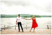 Amy & Michael's Engagement Session | Inlet, NY