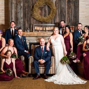 Tailwater Lodge Wedding Photography, Altmar, NY