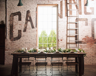 Styled Wedding at 'The Cannery'