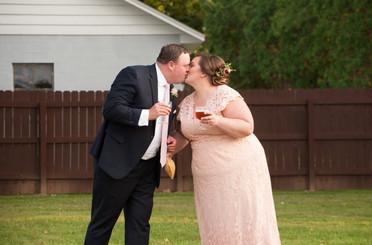 Patti and Scott Tie the Knot