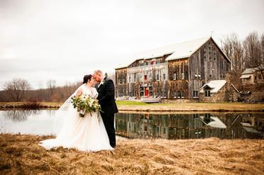 Blake & John's Micro-Wedding | Cristman Barn, Ilion, NY