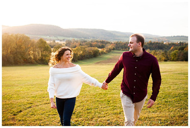 Hannah & Will's Engagement Session | Windy Hill Orchard, Cassville, NY