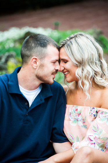 Cody & Colleen's Engagement Session at Hamilton College