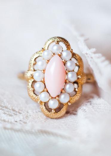 Vintage Blush - Styled Bridal Session
