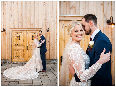 Julie & Brett's Winter Wedding at The Cannery | Vernon, NY