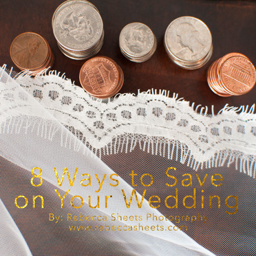 8 Ways to Save on Your Wedding