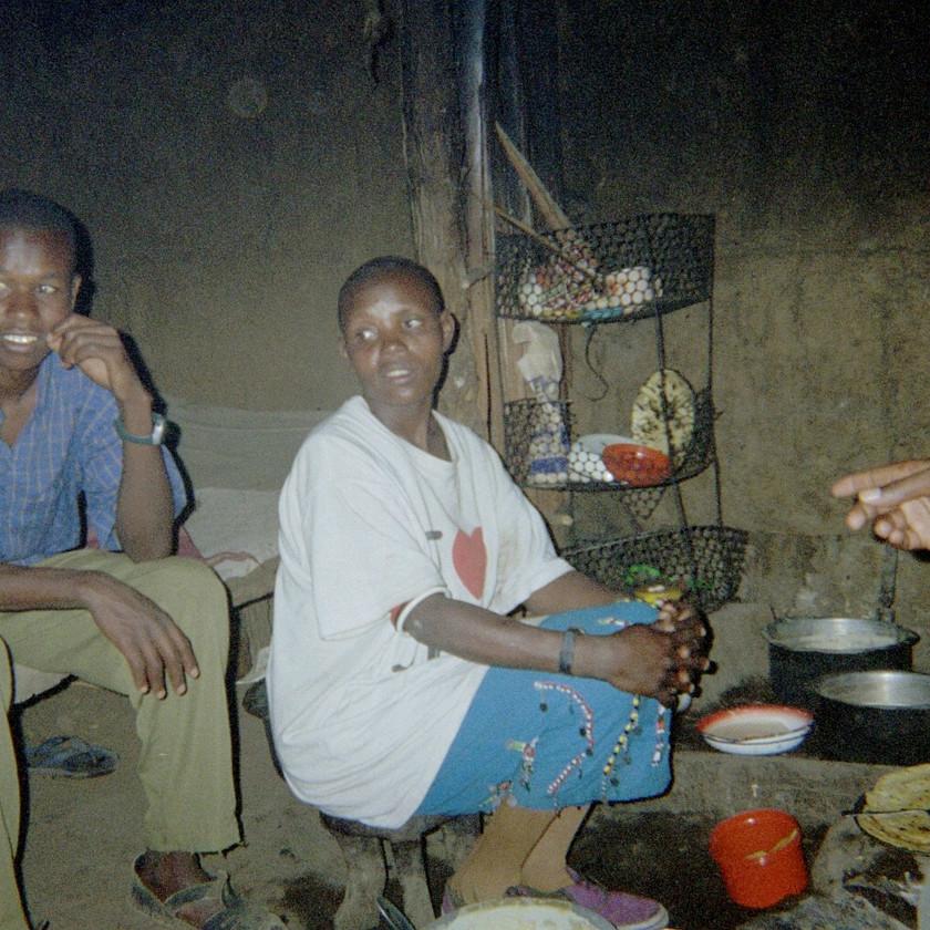 Lunch in Manyatta