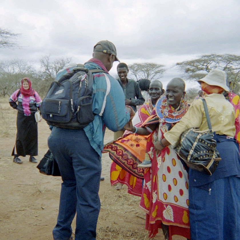 Missionaries Greetings Masai