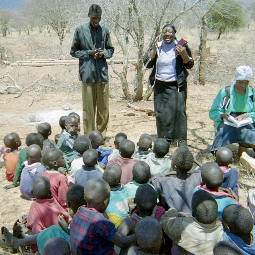 Morrison and Charmi Teaching