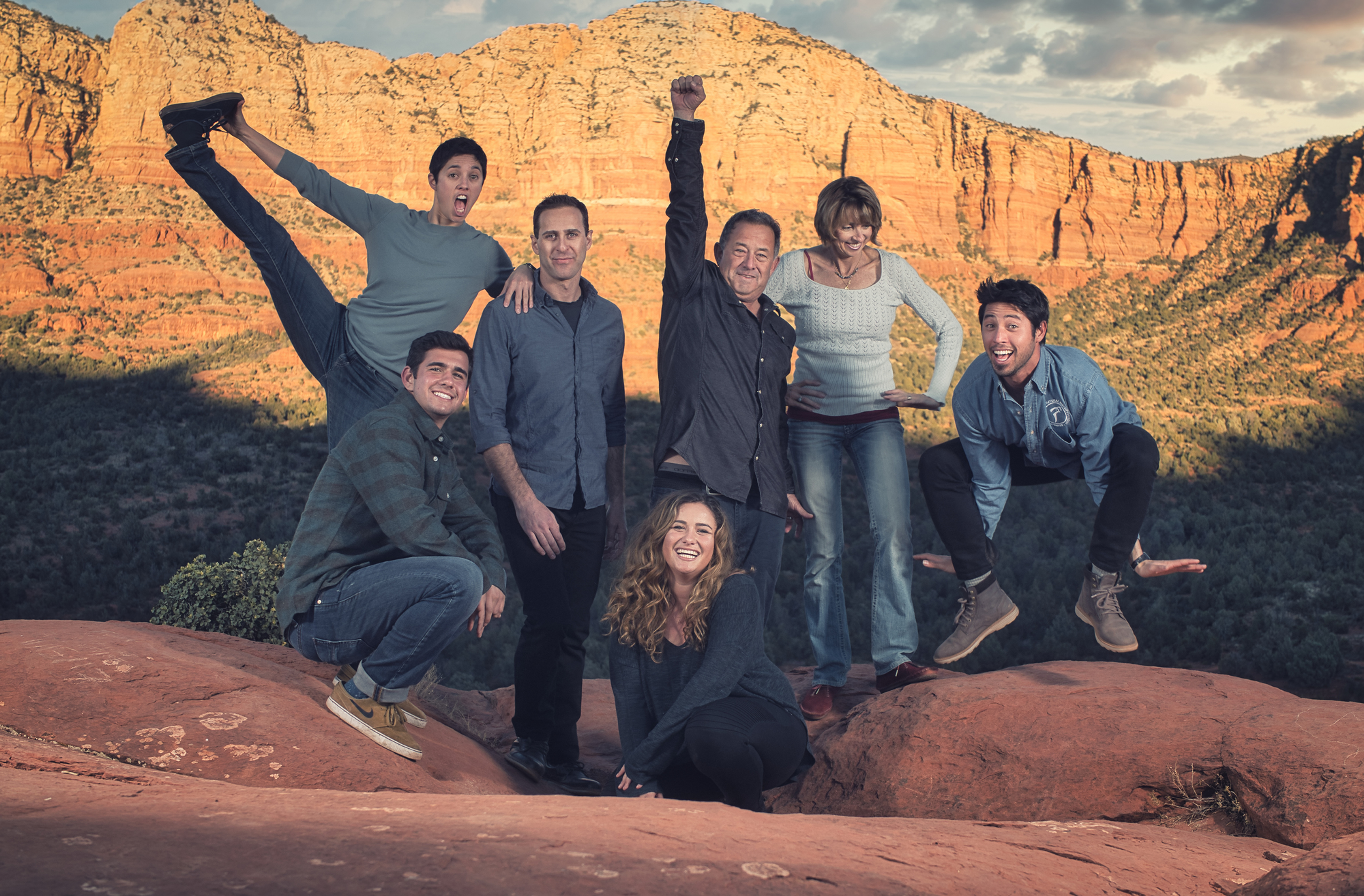 Sedona Family Adventure Shoot