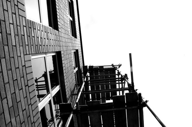 Perception 26: Scaffolding by Hotwells, Bristol