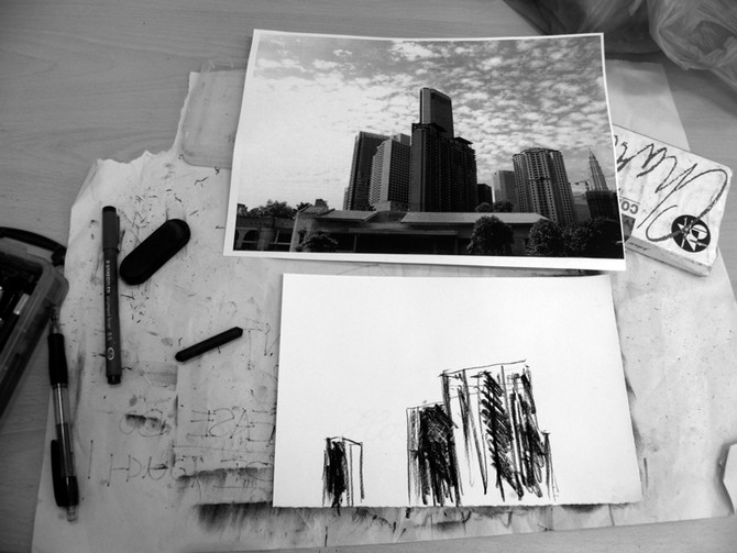 Intention Of Methodology Series: Photography And Drawing