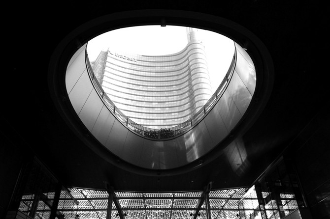 Perception 111: Piazza Gae Aulenti, Milan
