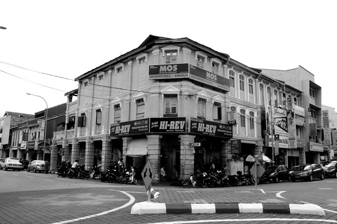 Perception 77: Junction at Little India, Ipoh