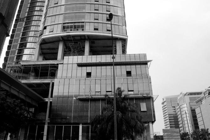 Perception 59: Construction, Jalan Kerinchi, Kuala Lumpur
