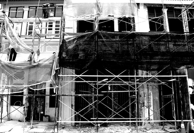 Perception 102: Construction in progress, Penang