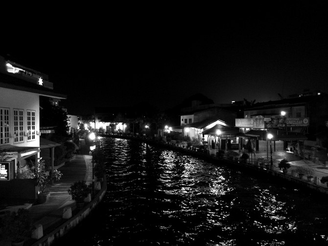Perception 134: River Nightview, Melaka