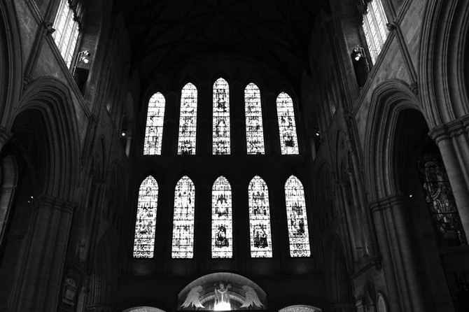 Perception 35: Stained Glass Windows, Ripon Cathedral, Ripon