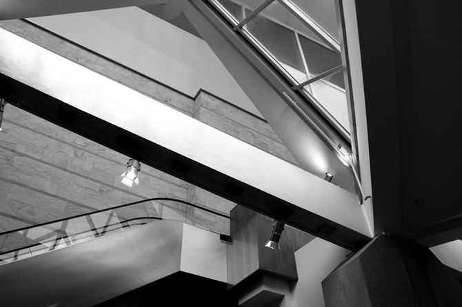 Perception 45: Interior Shapes and Forms, Esplanade - Theatres On The Bay, Singapore