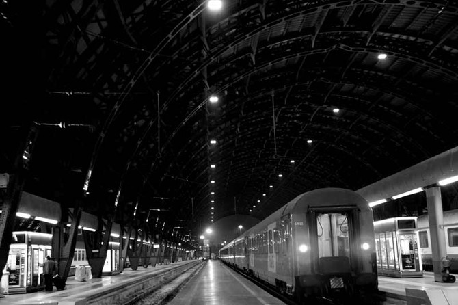 Perception 145: Train Station, Milan