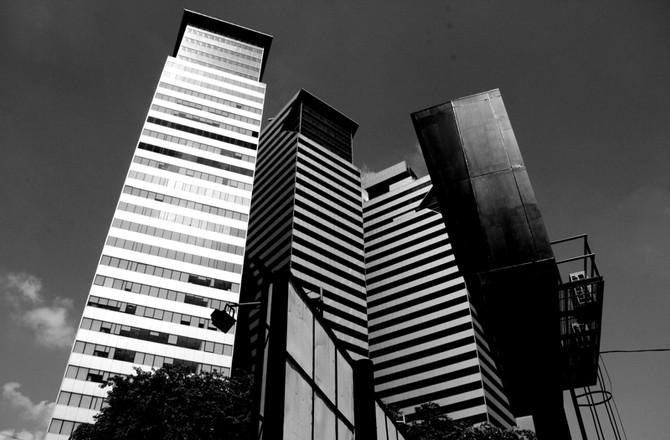 Perception 131: Structures Within The City, Kuala Lumpur