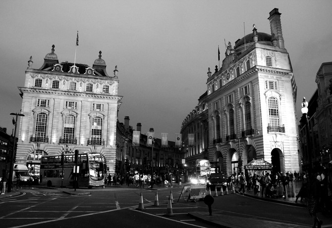 Perception 75: Nightime at Piccadilly Circus, London