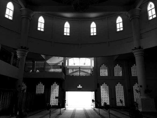 Perception 96: Floating Mosque Interior, Melaka