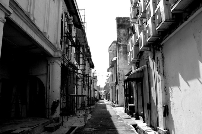 Perception 122: Alleyway, Ipoh