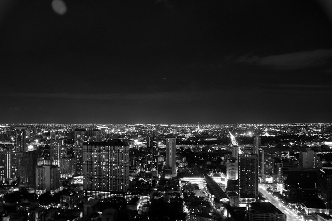 Perception 67: The City Of Bangkok And The Night Sky, Bangkok