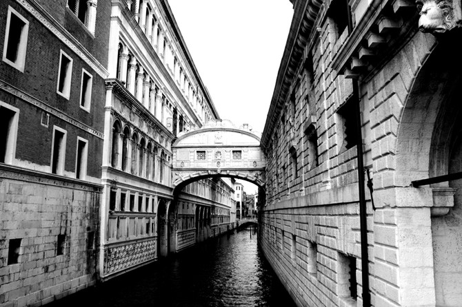 Perception 92: Structures and Rivers, Venice