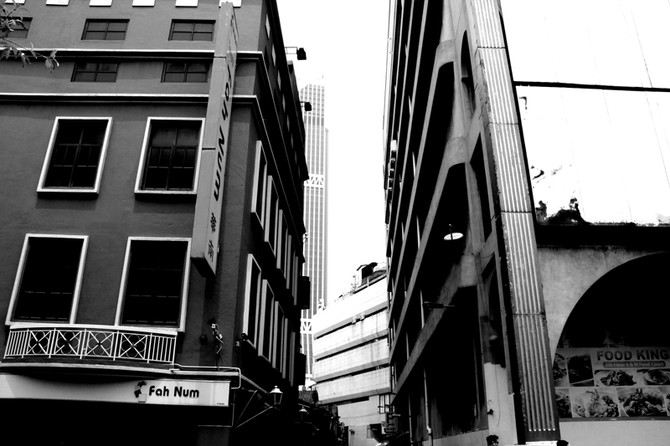 Perception 108: Buildings Overlay, Pasar Seni, Kuala Lumpur