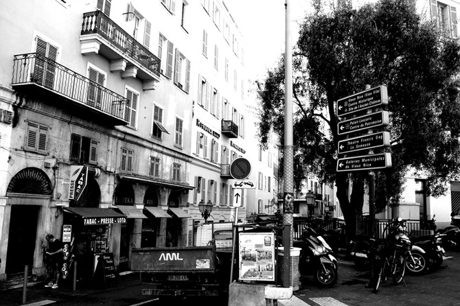 Perception 86: Signs around town, Nice