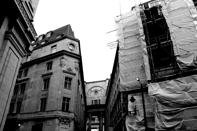Perception 117: In the Midst of Construction, London