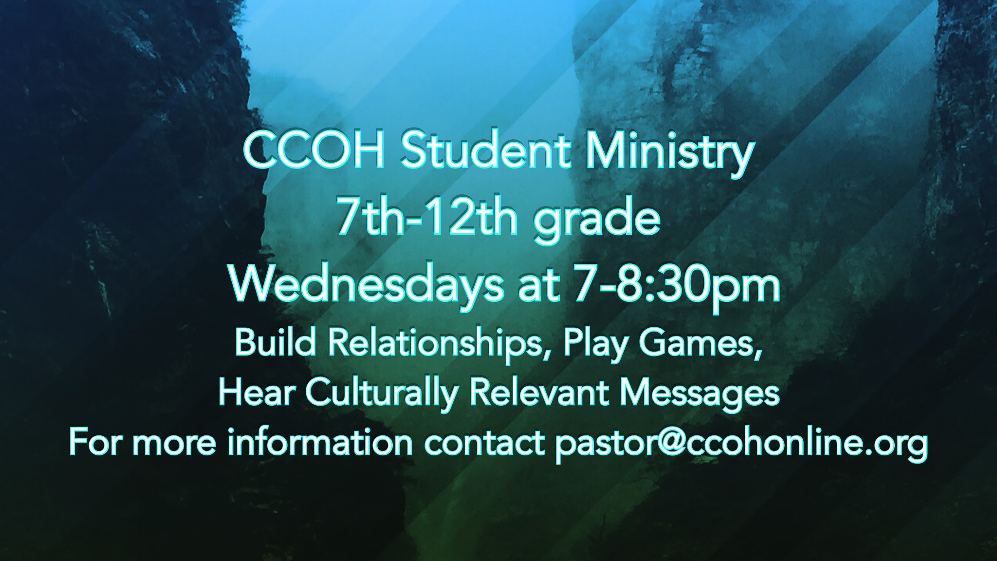 Student Ministry