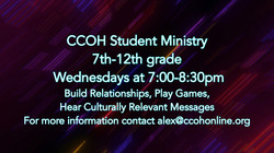 Student Ministry with Alex