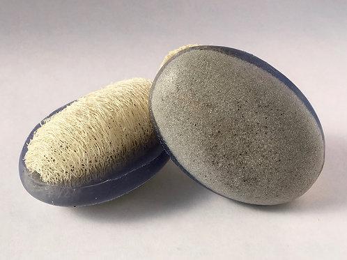 Pumice-Loofah Foot Soap