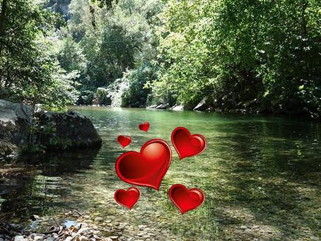 Escapade en pleine nature pour la St Valentin!